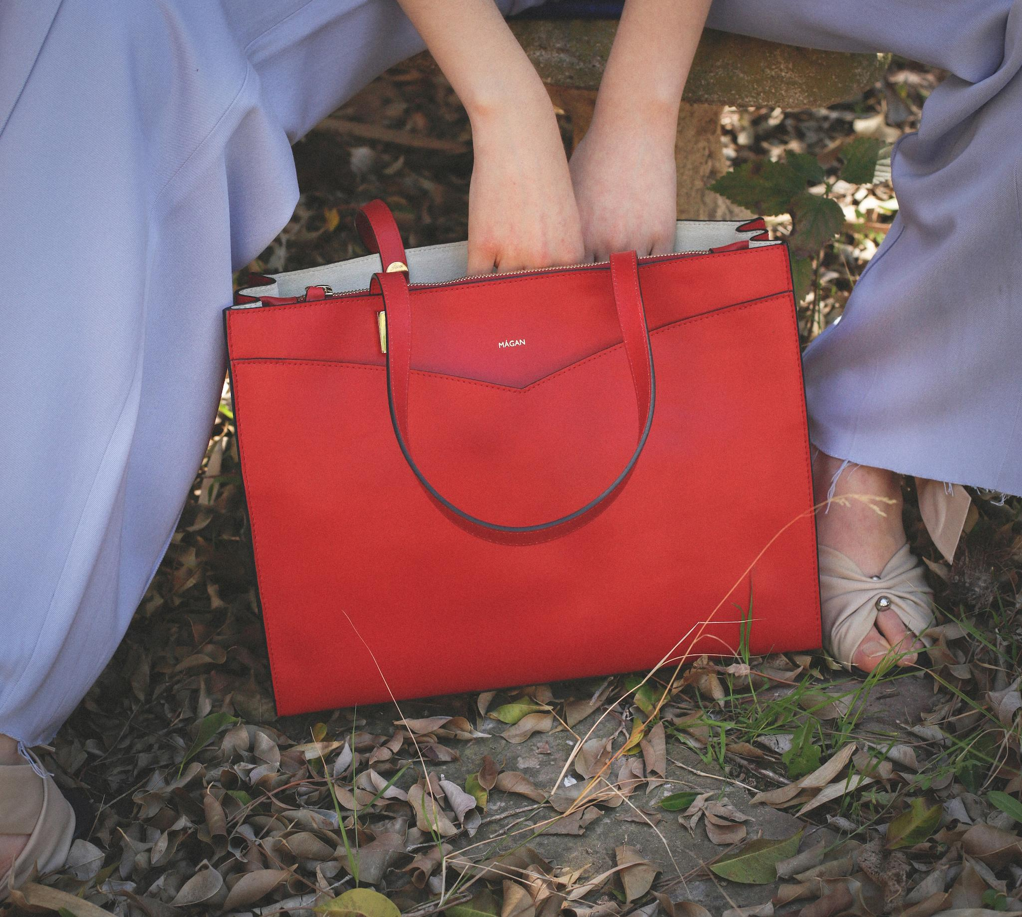 Bolso modelo MÀGAN SY Rojo
